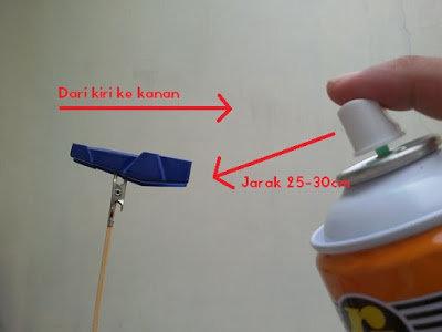 painting gundam spraycan