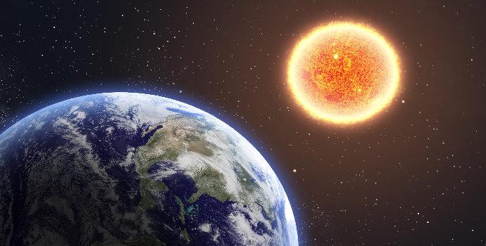 jarak matahari