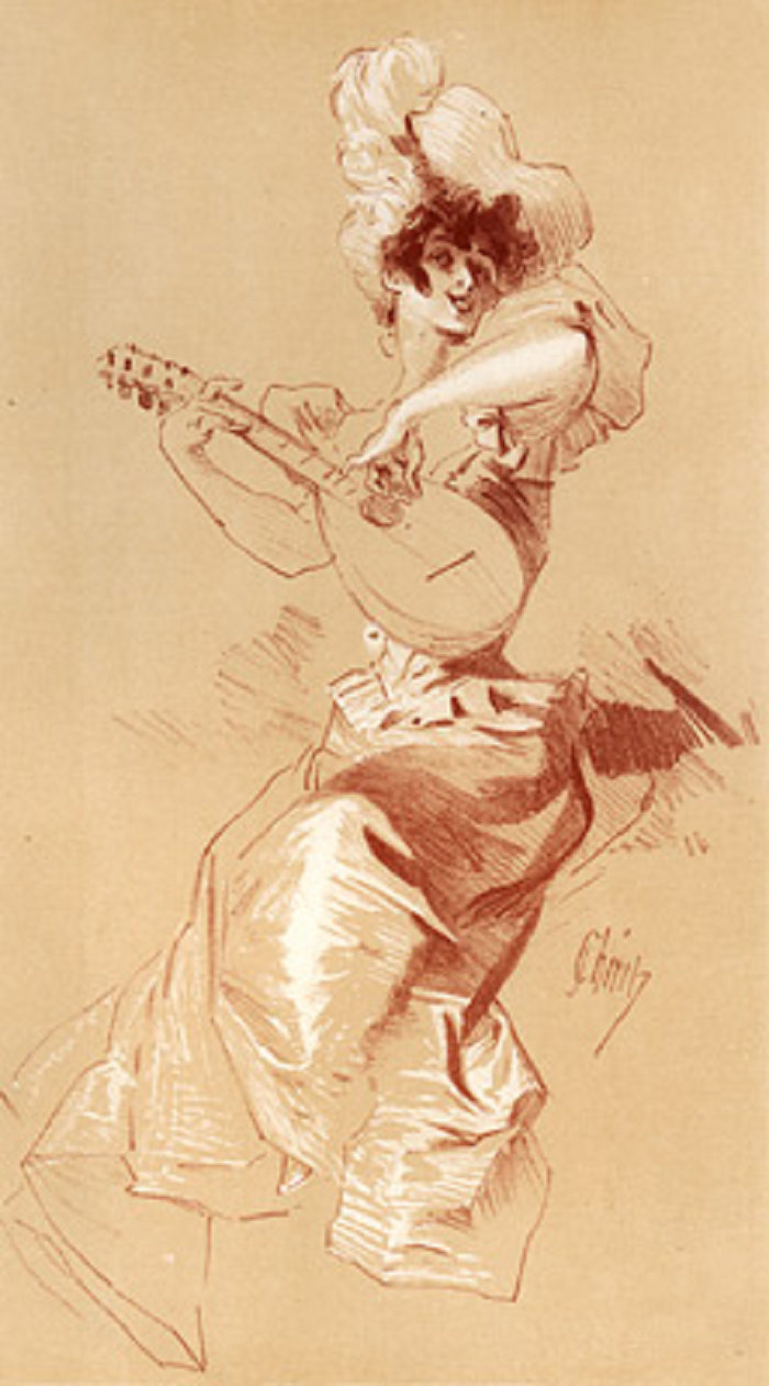 Jules - Music (lithograph, 1898)