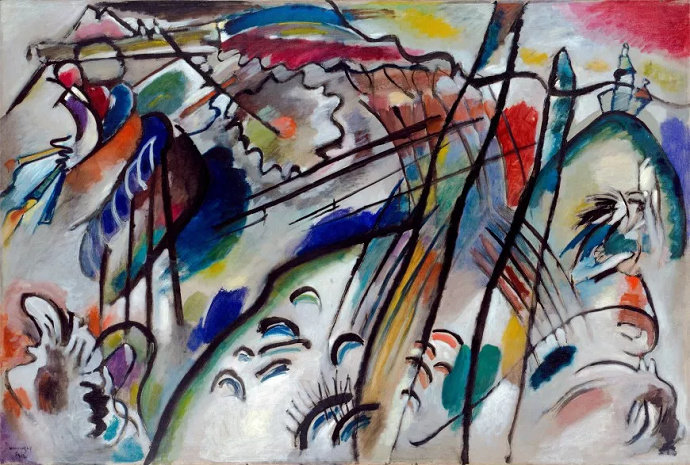 Vasily Kandinsky - Improvisation 28