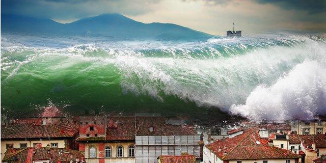 Apa yang dimaksud dengan tsunami? - Fisika - Dictio Community