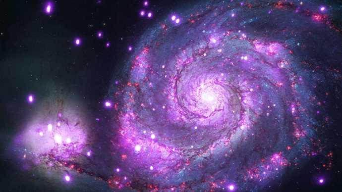 Galaksi Pusaran atau galaksi whirlpool