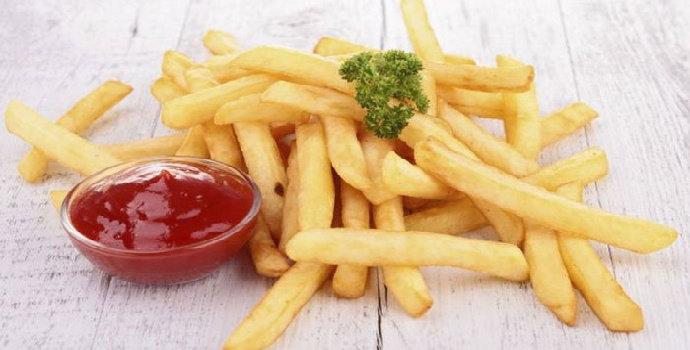 Bagaimana penggorengan kentang agar hasilnya garing dan renyah?