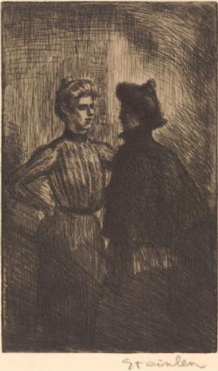 Rencontre, 1902