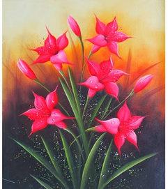 Apa Makna Lukisan Bunga Lili Seni Rupa Dictio Community