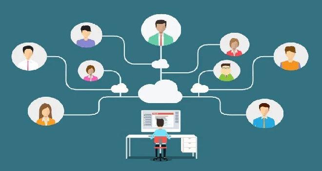Apa saja aspek manajemen untuk organisasi/perusahaan virtual ?
