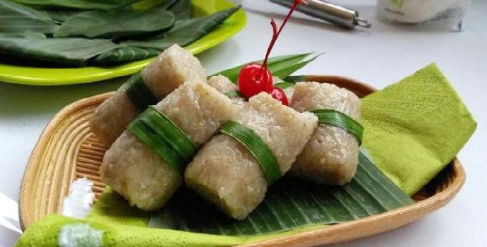 Nasi Benjak Khas Lampung Berbahan Dasar Pisang