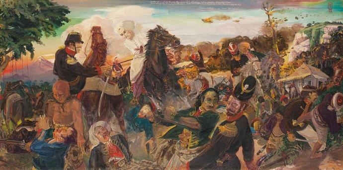 Lukisan Sindoesoedarsono Soedjojono
