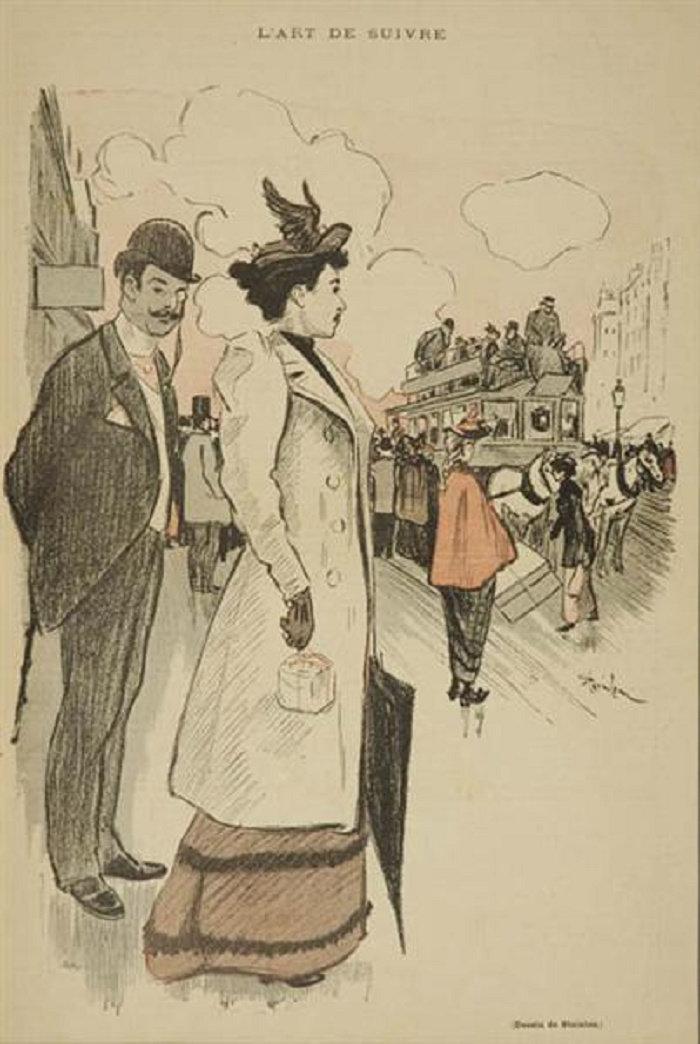 L'Art de Suivre, Theophile Steinlen, 1893