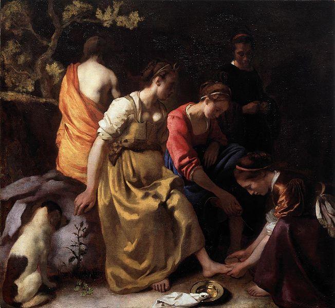 5 × 105 cm, 1655-1656, at Mauritshuis, Den Haag
