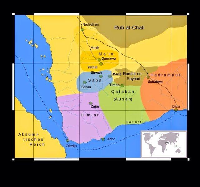 Peta Arab Selatan Kuno