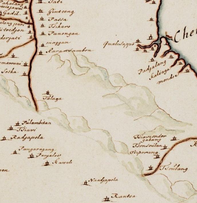 Peta Kerajaan Talaga