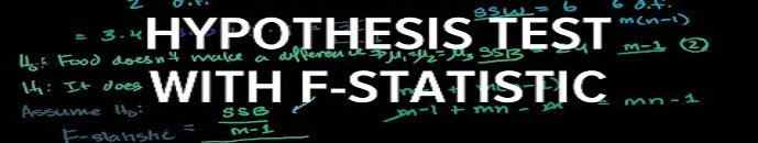 Uji F statistika