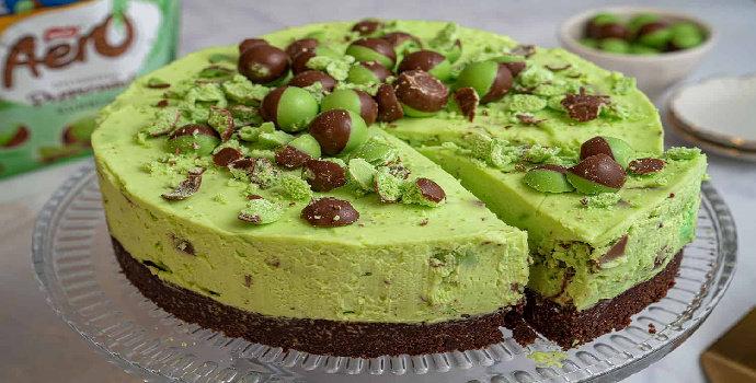 Resep Cheese Cake Mint Coklat