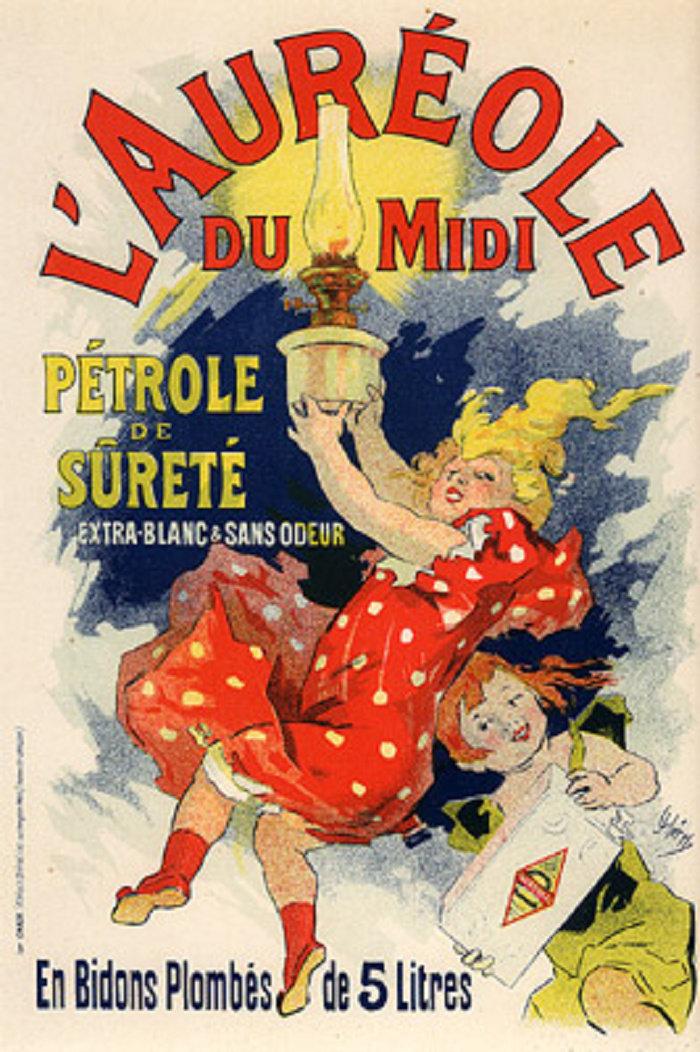 L´Aureole du Midi, Pétrole de sureté, 1900
