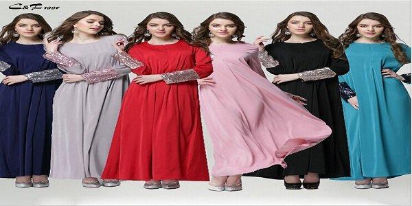 Wholesale-Women-Muslim-Clothing-High-Quality-Female-Traditional-Muslim-Sequin-Sleeve-Abaya-Dress-Turkish-Islamic-Maxi