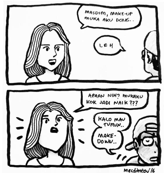 komik strip lucu 12