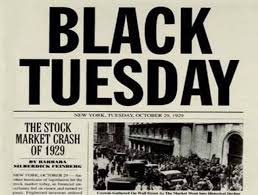Black Thursday dan Black Tuesday yang Mengancam