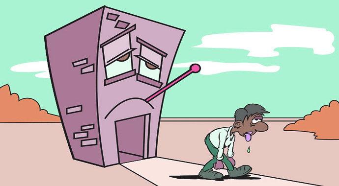 Sindom bangunan sakit