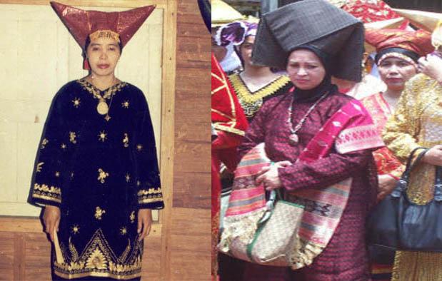 Pakaian Adat Sumatera Barat (Wanita)