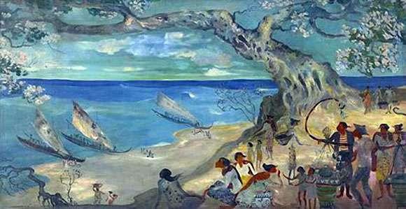 lukisan Hendra Gunawan