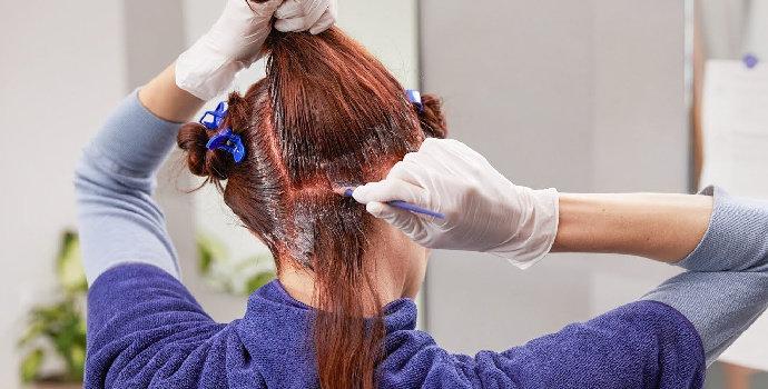 self hair color