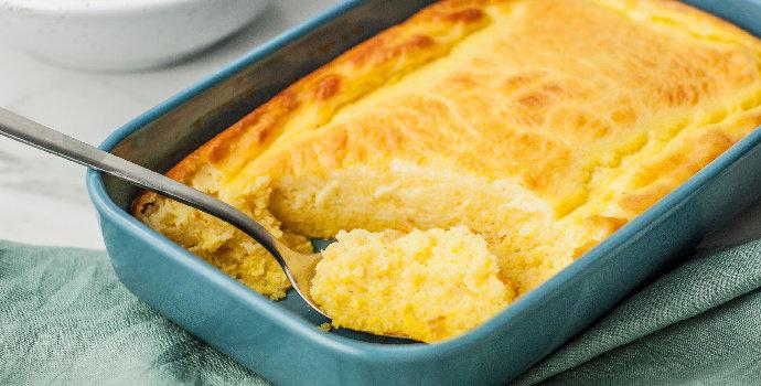 Bagaimana cara membuat bolu kukus jagung manis?