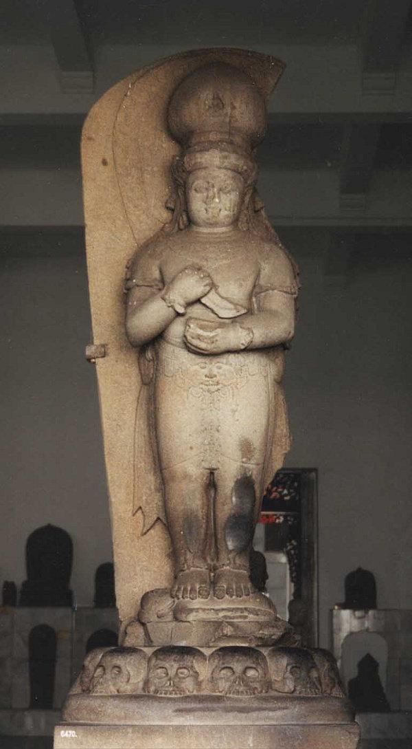 Arca Bhairawa perwujudan raja Adithyawarman