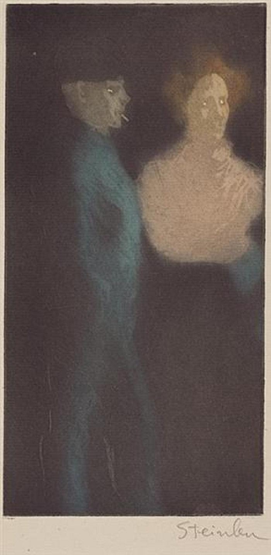 Fille et Souteneur, 1898