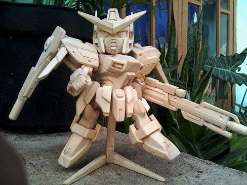 Gundam scratch build