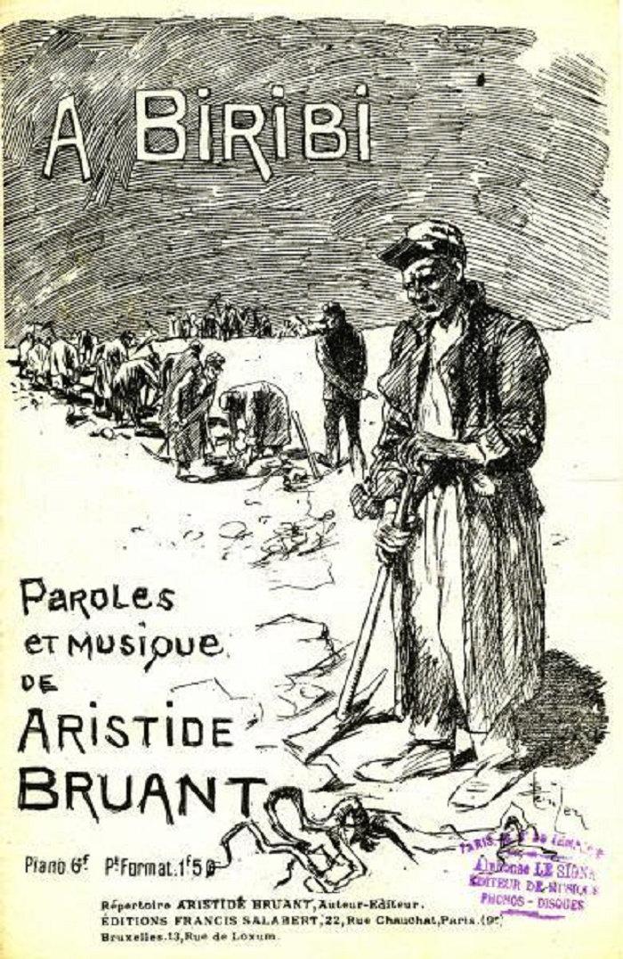 Au Bois de Boulogne, Theophile Steinlen, 1890