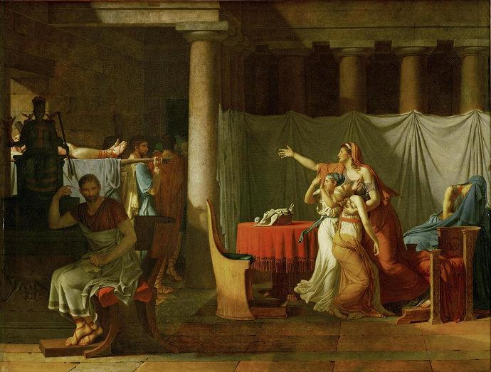 lukisan aliran Neo Klasikisme