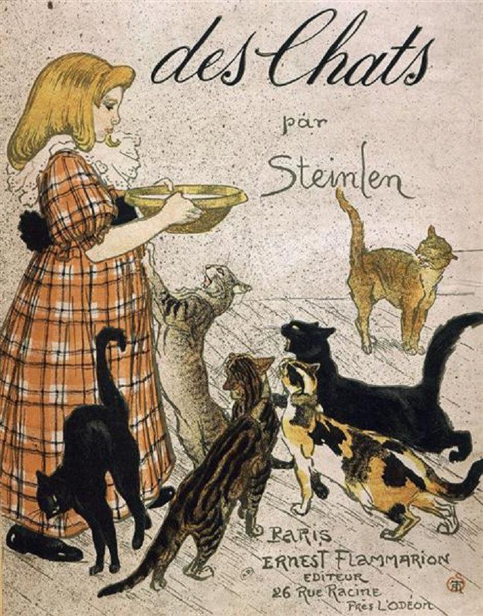 Cats, Des chats, 1898