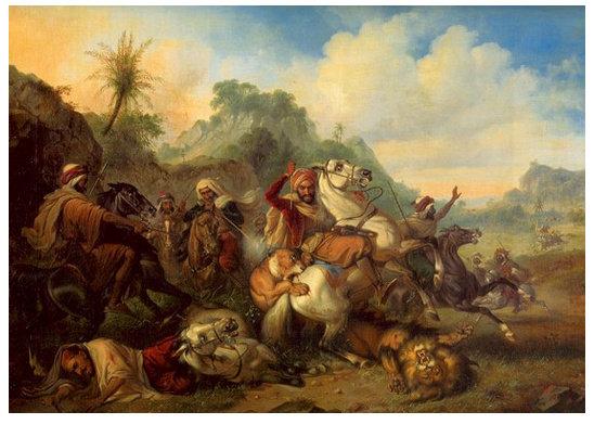 Lukisan Romantisme Karya Raden Saleh - Ilmu Seni Rupa - Dictio ...