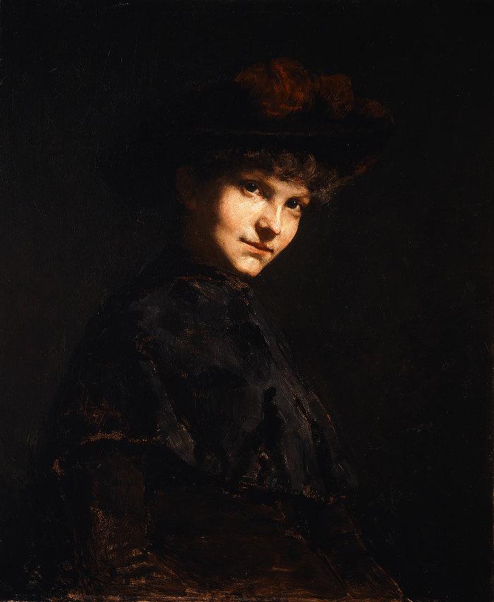 Cecilia Beaux-Ethel Page