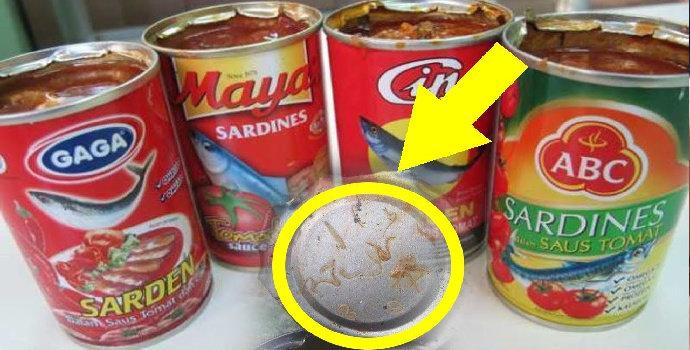 Hati-hati olahan sarden mengandung cacing ada yang ditarik oleh BPOM!