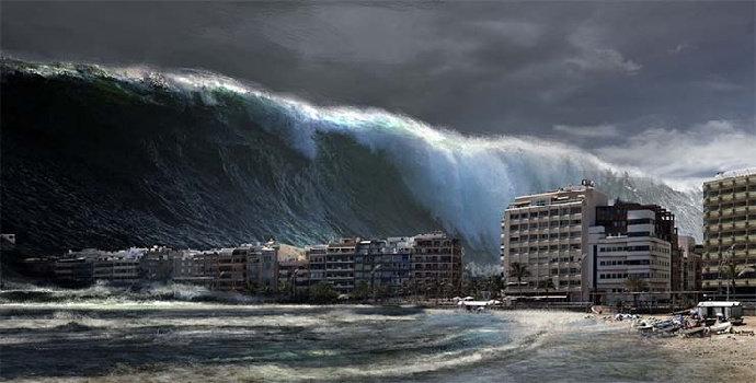 bencana tsunami di ulau Vancouver, Kanada