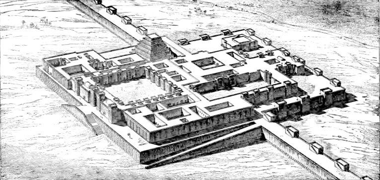 Denah istana Sargon