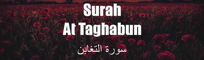 Surah At-Tagabun