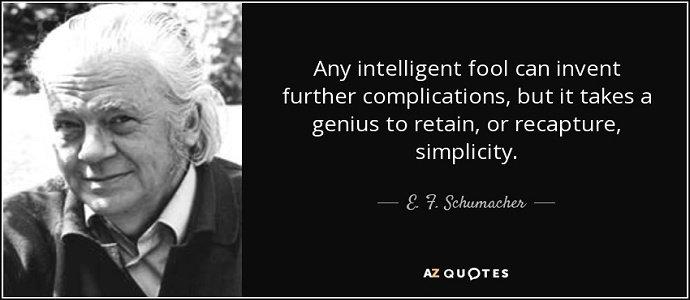 Ernst Friedrich 'Fritz' Schumacher quote