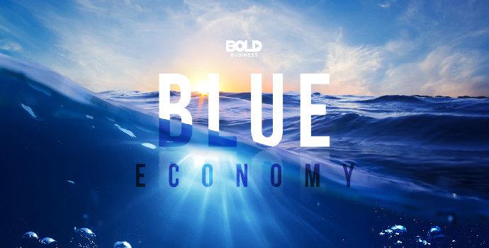 Apa yang dimaksud dengan ekonomi biru (bule economy) ?