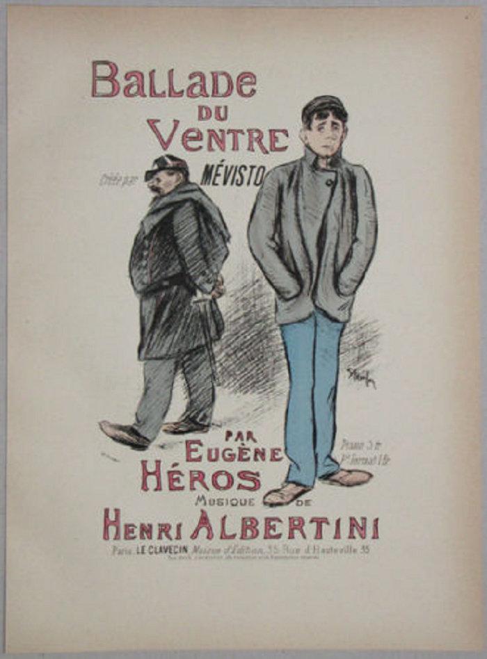Supreme Argument, Theophile Steinlen, 1891
