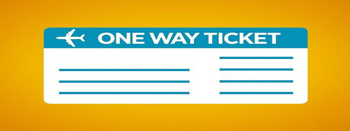 tiket satu kali perjalanan