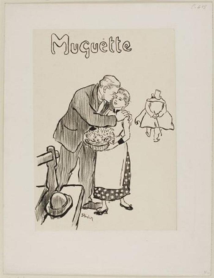 Muguette, Theophile Steinlen, 1892