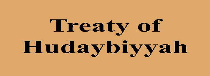 Perjanjian Hudaibiyyah