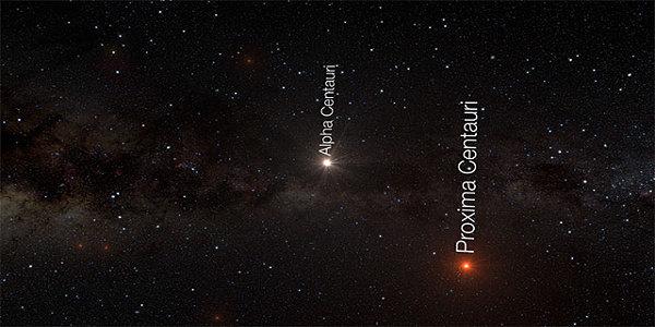 bintang alfa Centauri