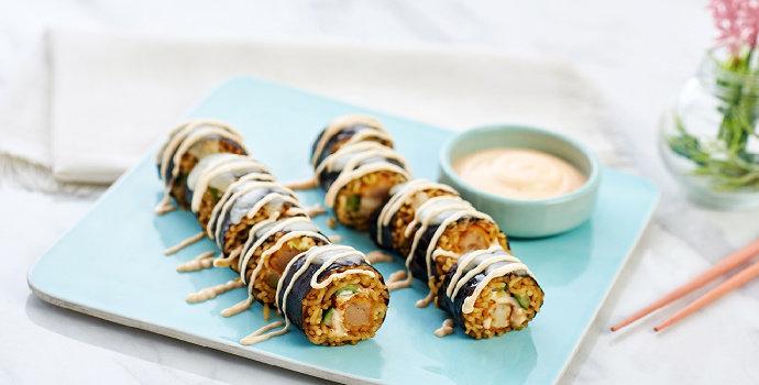 Resep Sushi Mie Panggang Mozarella