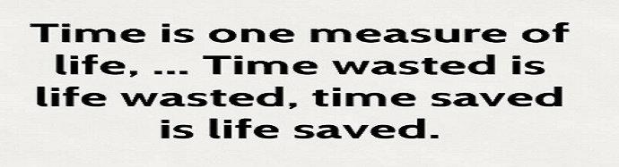 kalimat bijak membuang waktu