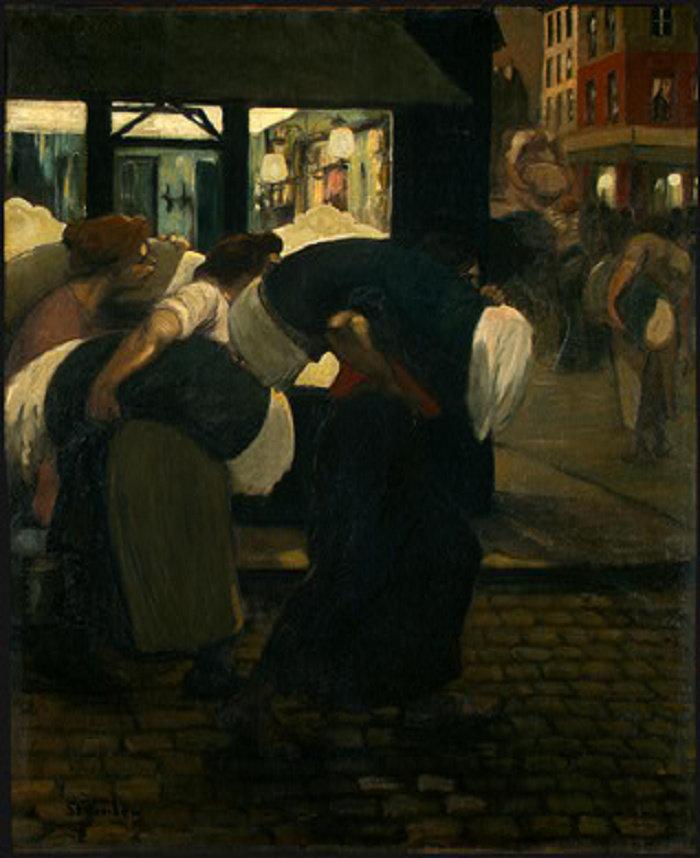 The Laundresses, 1899