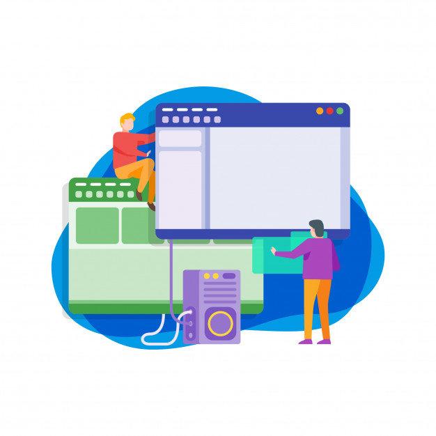 7 GPOS illustration-developpement-logiciel-informatique-plat_67419-67